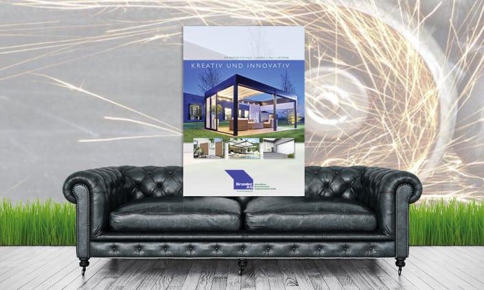 Brander Broschüre Katalog Steinmaur Design by grafik zum glueck