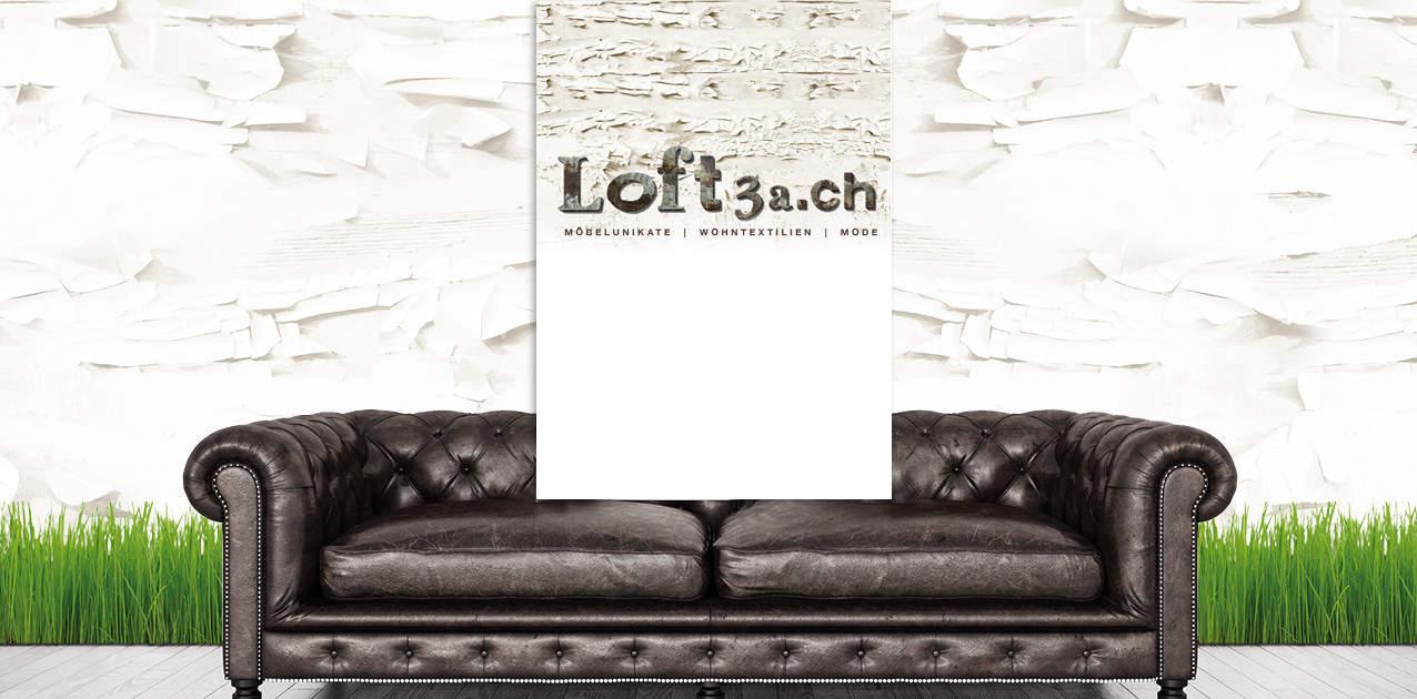 Corporate Design Loft3a logo grafik gestaltnung grafikzumglueck