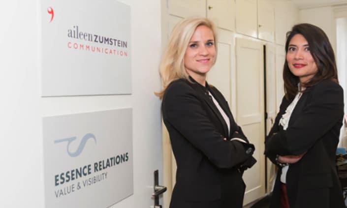 Aileen Zumstein und Essence Relations - Grafik Design - grafik ZUM GLÜCK.CH