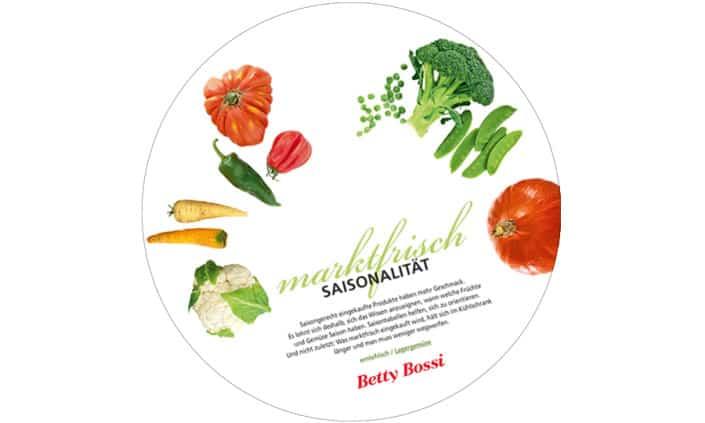 Betty Bossi Design Gartabelle Gar- und Saisontabelle für Mini-Steamer - grafik ZUM GLÜCK.CH