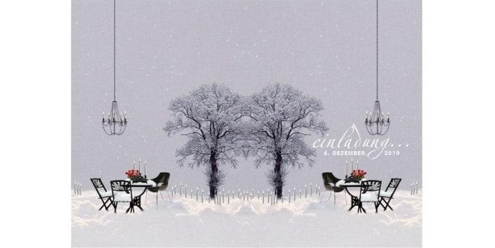 Flyer Design Winterzauber persönliche Einladungskarte2 grafikZUMGLUECK.CH