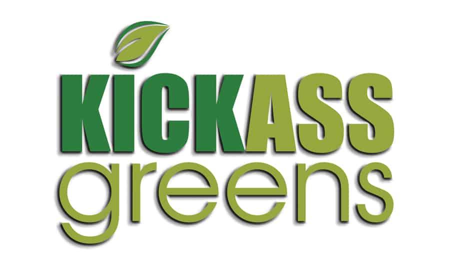 Logo Design - Kickassgreens - Grafik Design - grafik ZUM GLÜCK.CH