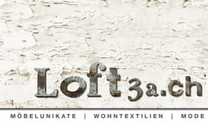 Logodesign Corporate Identity loft3a dielsdorf möbelunikate wohntextilien mode grafikzumglueck