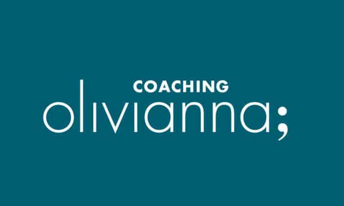 Logodesign Corporate Identity olivianna coaching - Grafik Design - grafik ZUM GLÜCK.CH