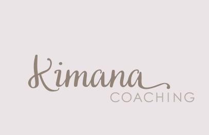 Visitenkarte Corporate Identity kimana coaching grafikzumglueck