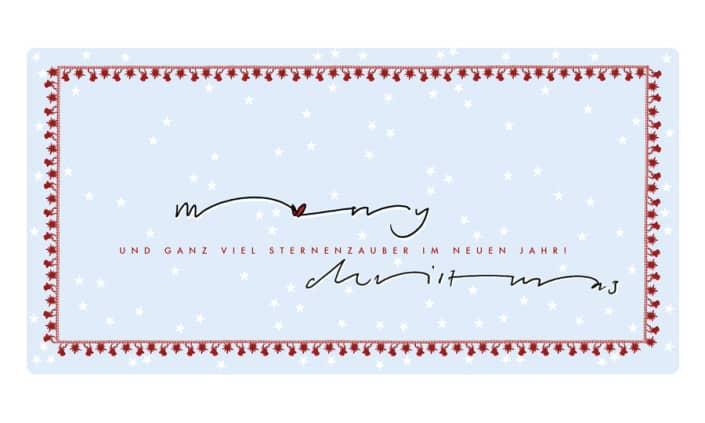 Weihnachtskarte - Christmas - Grafik Design - grafik ZUM GLÜCK.CH