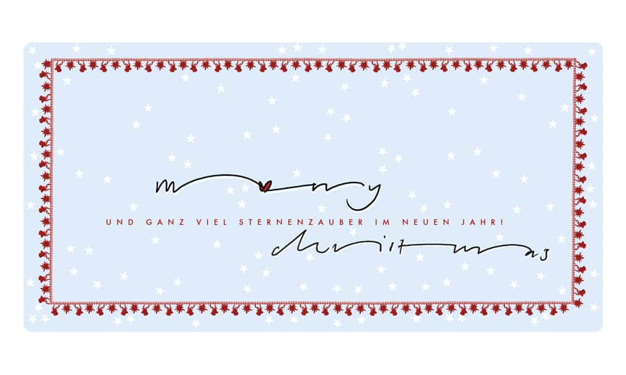 Weihnachtskarte christmas grafik design grafik zum glück ch