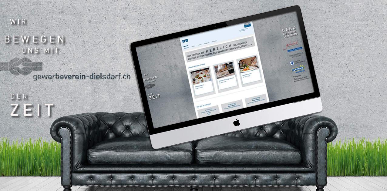 Gewerbeverein Dielsdorf webdesign by grafik zum glueck