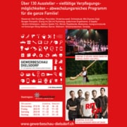 Flyer Gewerbeschau Dielsdorf Flyer + Web Design by grafikZUMGLÜCK